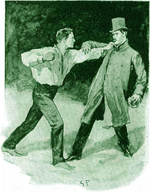 Paget illustration for the Adventure of the Beryl Coronet